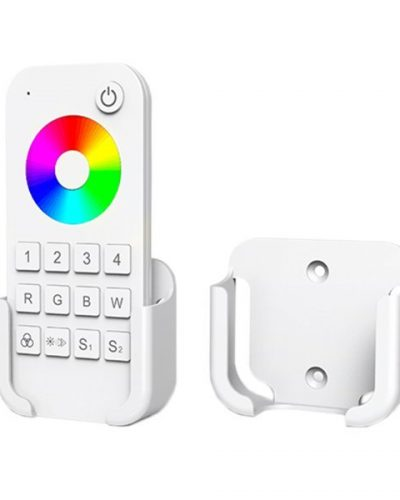support blanc telecommande led