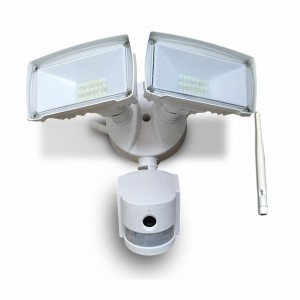 projecteur double led avec camera