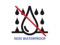 NON WATERPROOF