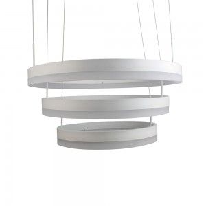 chandelier rond led 92 watts