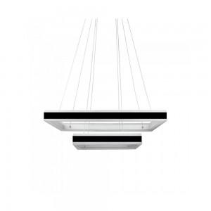 suspension design noir et blanc