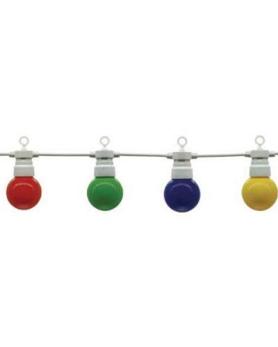 guirlande multicolore E27