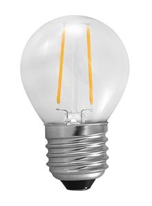 Ampoule -e27 filament balle de golf